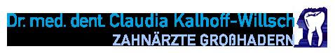 Zahnarztpraxis Dr. med. dent. Claudia Kalhoff-Willsch